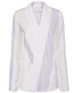 Victoria Victoria Beckham | Panelled Asymmetric Front Shirt