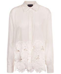 Rochas | Natural Silk Embroide Shirt