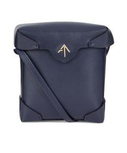 Manu Atelier   Leather Mini Pristine Box Bag