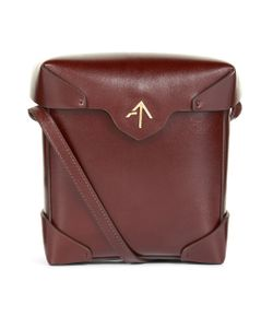 Manu Atelier | Dish Leather Mini Pristine Box Bag