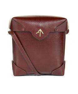 Manu Atelier | Dish Leather Mini Pristine Box Bag