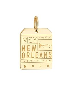 Jet Set Candy | Msy New Orleans Luggage Tag Charm