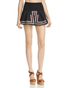 Piper | Sublime Embroidered Mini Skirt