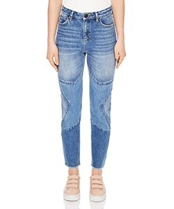 Sandro | Misty Cropped Straight-Leg Jeans In