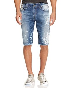 True Religion | Ricky Relaxed Fit Denim Shorts In