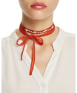 Chanluu | Chan Luu Chiffon Embroidered Necktie