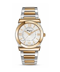 Salvatore Ferragamo | Vega Sunray Dial Watch 38mm