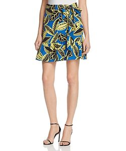 Boutique Moschino | Printed Faux-Wrap Skirt