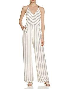Adelyn Rae | Stripe Jumpsuit