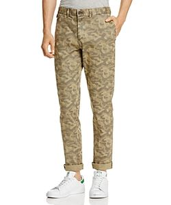 Michael Bastian | Camouflage Print Regular Fit Pants