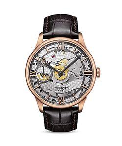 Tissot   Chemin Des Tourelles Squelette Watch 42mm
