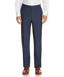 Canali | Classic Fit Travel Trousers