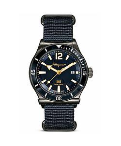 Salvatore Ferragamo   1898 Sport Marine Stainless Steel Watch 43mm