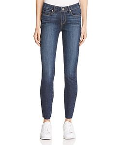 Paige | Verdugo Raw Hem Ankle Jeans In