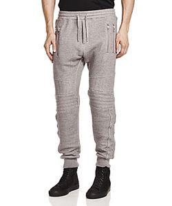 The Kooples | Quilted Moto Fleece Sweatpants