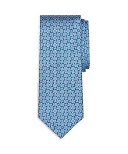 Brooks Brothers | Square Link Print Classic Tie