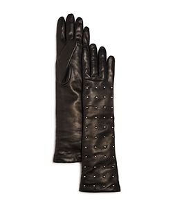Bloomingdale's | Cashmere Lined Studded Long Gloves 100 Exclusive