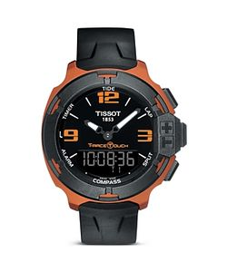 Tissot   T-Race Touch Bronze Watch With Synthetic Strap 42mm