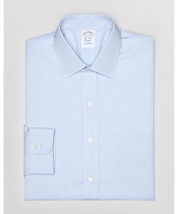 Brooks Brothers | Regent Pinpoint Solid Non-Iron Classic Fit Dress Shirt