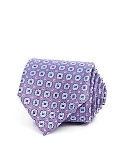 Canali | Circle Square Medallion Neat Classic Tie