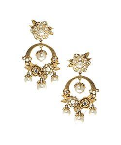 Marchesa | Orbital Drop Earrings