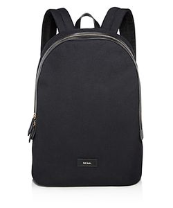 Paul Smith | Canvas And Leather Detail Backpack