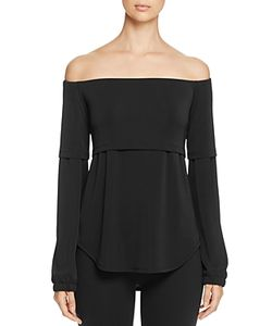 DKNY | Off-The-Shoulder Layered-Look Blouse 100 Exclusive