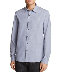 Michael Bastian | Textured Dot Regular Fit Button-Down Shirt