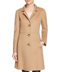 Cinzia Rocca Icons | Virgin Wool Notched Collar Coat