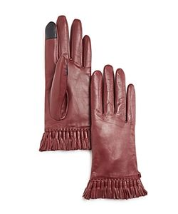 Rebecca Minkoff | Mini Tassel Leather Tech Gloves