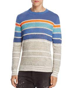 Diesel | K-Colonial Striped Linen Blend Sweater