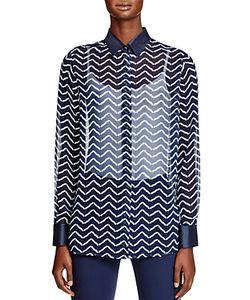 Armani Collezioni | Chevron Print Shirt