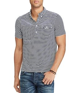 Polo Ralph Lauren | Striped Slim Fit Popover Shirt