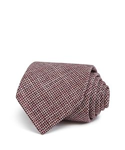 Drake's | Small Houndstooth Classic Tie