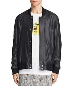 Public School | Hargreaves Ruched Sleeve Bomber Jacket