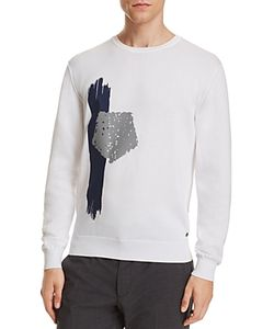 Z Zegna | Placed Print Sweater