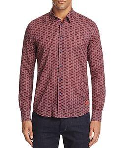 Vilebrequin | Anchor Voile Regular Fit Button-Down Shirt