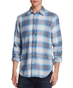7 For All Mankind | Plaid Flannel Regular Fit Button-Down Shirt