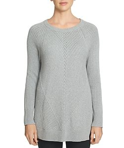 1.STATE | Ribbed Tunic Sweater