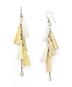 Chanluu | Chan Luu Tassel Drop Earrings 100 Exclusive