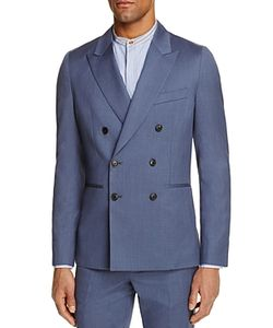 Paul Smith | Double-Breasted Slim Fit Sport Coat 100 Exclusive