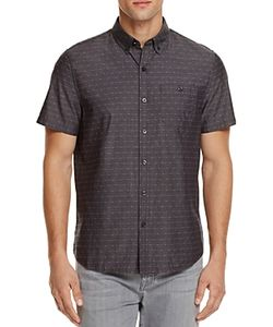 Michael Bastian | Dobby Dot Regular Fit Button-Down Shirt