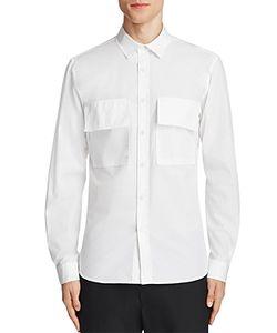 Public School | Craw Double Pocket Slim Fit Button-Down Shirt