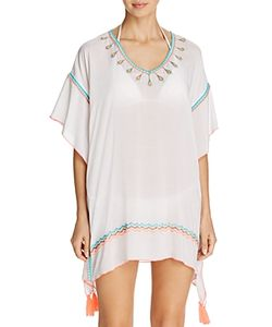 Surf Gypsy | Embroidered Poncho Swim Cover-Up