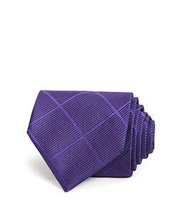 Armani Collezioni | Diamond Check Classic Tie