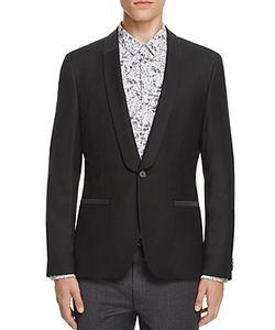 Hugo   Arian Shawl Collar Slim Fit Tuxedo Jacket