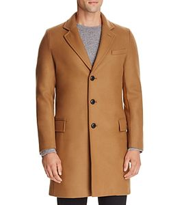 Gloverall | Chesterfield Wool Cashmere Blend Coat