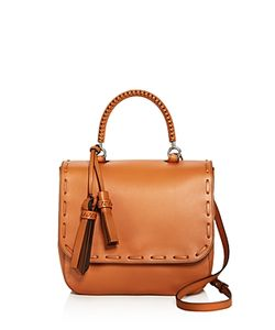 Max Mara | Braided Large Leather Satchel