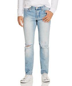 Soulland | Erik Destroyed Slim Fit Jeans In Vintage