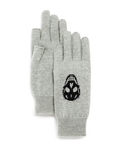 360Cashmere | Skull Gloves